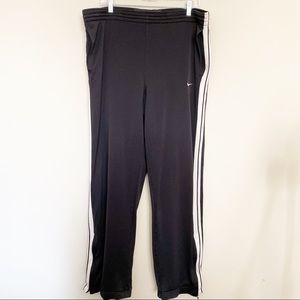 Men's NIKE Basketball Pants Black/White Large